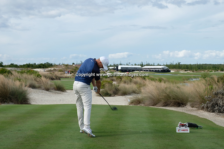 Alex Noren during the second round of the 2018 Hero World Challenge being played at The Albany Resort, Bahamas.<br />  Picture Stuart Adams, www.golftourimages.com: \30/11/2018\
