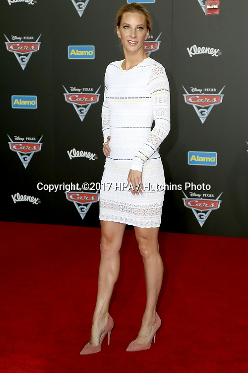 """LOS ANGELES - JUN 10:  Heather Morris at the """"Cars 3"""" Premiere at the Anaheim Convention Center on June 10, 2017 in Anaheim, CA"""