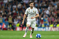 Nacho Fernandez  of Real Madrid during the match between Real Madrid vs Viktoria Plzen of UEFA Champions League, Group Stage, Group G, date 3, 2018-2019 season. Santiago Bernabeu Stadium. Madrid, Spain - 23 OCT 2018.