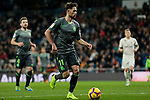 Real Sociedad's Adnan Januzaj during La Liga match between Real Madrid and Real Sociedad at Santiago Bernabeu Stadium in Madrid, Spain. January 06, 2019. (ALTERPHOTOS/A. Perez Meca)<br />  (ALTERPHOTOS/A. Perez Meca)