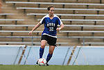 28 August 2009: Duke's Kendall Bradley. The Duke University Blue Devils lost 1-0 to the University of North Carolina Greensboro Spartans at Fetzer Field in Chapel Hill, North Carolina in an NCAA Division I Women's college soccer game.