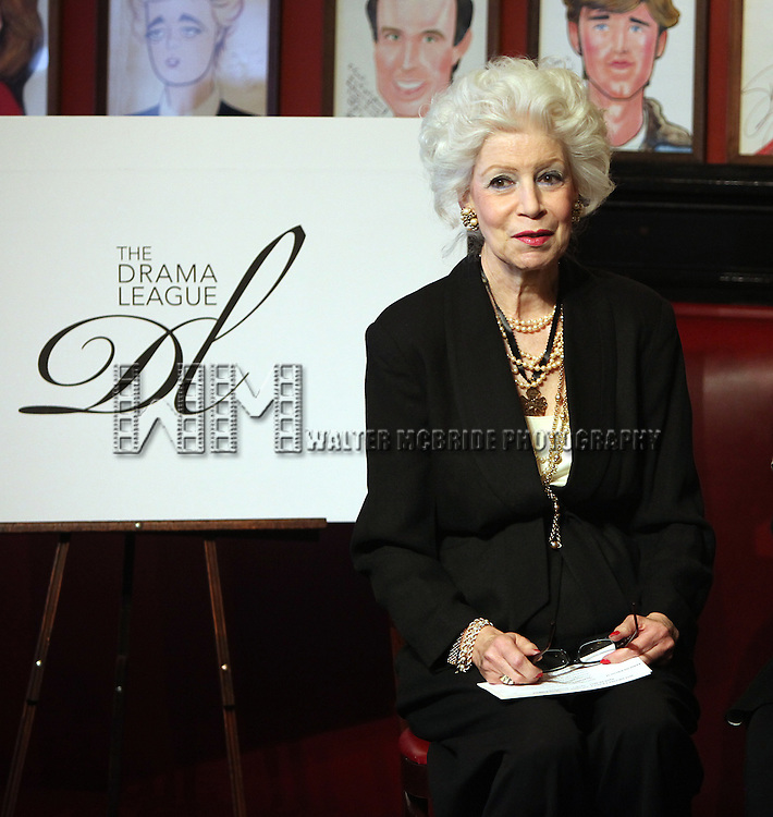 Jano Herbosch.attending the Announcements for the 2012 Drama League Nominations held at Sardi's on 4/24/2012 in New York City. © Walter McBride / Retna Ltd.