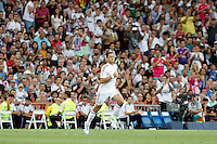 Chicharito of Real Madrid during La Liga match between Real Madrid and Atletico de Madrid at Santiago Bernabeu stadium in Madrid, Spain. September 13, 2014. (ALTERPHOTOS/Caro Marin)