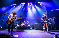 LAS VEGAS, NV - August 20, 2016: ***HOUSE COVERAGE*** Silversun Pickups perform at Brooklyn Bowl at The Linq in Las Vegas, NV on August 20, 2016. Credit: Erik Kabik Photography/ MediaPunch