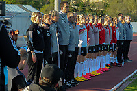 20200307  Lagos , Portugal : German substitutes pictured during the female football game between the national teams of Germany and Norway on the second matchday of the Algarve Cup 2020 , a prestigious friendly womensoccer tournament in Portugal , on saturday 7 th March 2020 in Lagos , Portugal . PHOTO SPORTPIX.BE | STIJN AUDOOREN