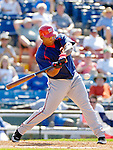 6 March 2006: Marlon Byrd, outfielder for the Washington Nationals, at bat during a Spring Training game against the Los Angeles Dodgers. The Nationals and Dodgers played to a scoreless tie at Holeman Stadium, in Vero Beach Florida...Mandatory Photo Credit: Ed Wolfstein..