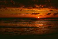 Sunset Ruby Beach, WA., Fuji Velvia 100 Film