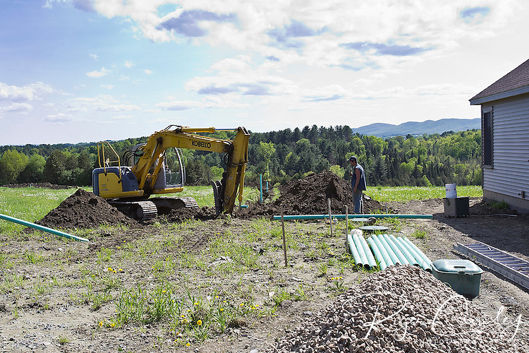 Huntington Homes built Roger and Louise Crowley a custom modular home in East Montpelier, Vermont. Land was purchased in December 2010, discussions with Jason Webster (Huntington Homes) in January, permits obtained in February, sitework began with Tom Tucker in March, modules delivered on April 22nd and we moved in in May 26. Landscaping followed.