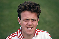 Noel McGinn, GAA footballer, Tyrone, N Ireland, 19870607NMG.<br /> <br /> Copyright Image from Victor Patterson, 54 Dorchester Park, Belfast, UK, BT9 6RJ<br /> <br /> t1: +44 28 9066 1296 (from Rep of Ireland 048 9066 1296)<br /> t2: +44 28 9002 2446 (from Rep of Ireland 048 9002 2446)<br /> m: +44 7802 353836<br /> <br /> e1: victorpatterson@me.com<br /> e2: victorpatterson@gmail.com<br /> <br /> www.victorpatterson.com<br /> <br /> IMPORTANT: Please see my Terms and Conditions of Use at www.victorpatterson.com