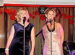 Singers Missy Keene & Jodi Stevens perform at New Year's Eve 2016 at The Copacabana, New York City, New York. (Photo by Sue Coflin/Max Photos)  suemax13@optonline.net