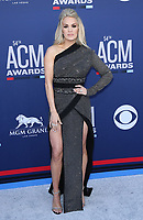 07 April 2019 - Las Vegas, NV - Carrie Underwood. 2019 ACM Awards at MGM Grand Garden Arena, Arrivals. Photo Credit: mjt/AdMedia