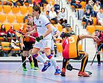 ROTTERDAM  - NK Zaalhockey,   halve finale heren Oranje Rood-SCHC (SCHC wint en plaatst zich voor de finale)    COPYRIGHT KOEN SUYK