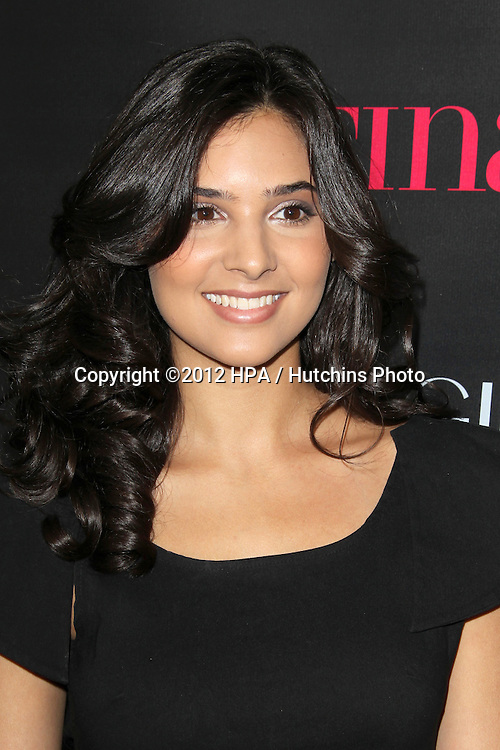 """LOS ANGELES - OCT 4:  Camila Banus arrives at the """"Latinos In Hollywood"""" Event at The London West Hollywood on October 4, 2012 in West Hollywood, CA"""