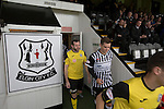 Elgin City 3 Edinburgh City 0, 13/08/2016. Borough Briggs, Scottish League Two. Visiting striker Craig Beattie walking out on to the pitch at Borough Briggs, home to Elgin City, on the day they played SPFL2 newcomers Edinburgh City. Elgin City were a former Highland League club who were elected to the Scottish League in 2000, whereas Edinburgh City became the first club to gain promotion to the League by winning the Lowland League title and subsequent play-off matches in 2015-16. This match, Edinburgh City's first away Scottish League match since 1949, ended in a 3-0 defeat, watched by a crowd of 610. Photo by Colin McPherson.