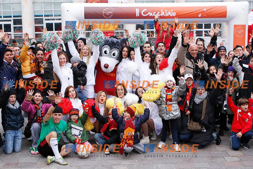 """Roma 29/01/2012 Inaugurazione del villaggio d'intrattenimento """"Cuore Sole Village by AS Roma"""".Parco del Foro Italico.Foto Insidefoto Serena Cremaschi"""