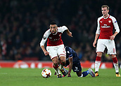 2nd November 2017, Emirates Stadium, London, England; UEFA Europa League group stage, Arsenal versus Red Star Belgrade; Francis Coquelin of Arsenal in action