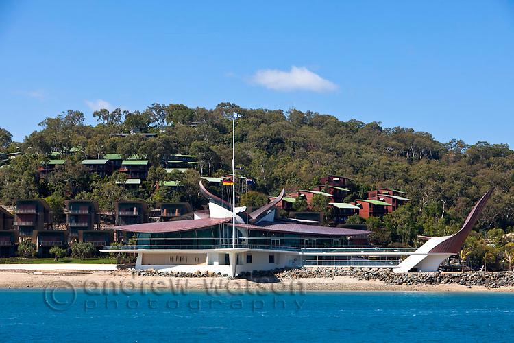 Hamilton Island Yacht Club and Villas.  Hamilton Island, Whitsundays, Queensland, Australia