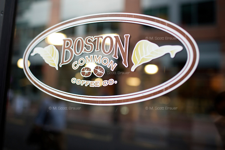 Boston Common Coffee Co., has locations around Boston, including this one in Downtown Crossing.
