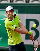France, Paris, 02.06.2014. Tennis, French Open, Roland Garros, Andy Murray (GBR) <br /> Photo:Tennisimages/Henk Koster