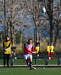 Gareth David Griffiths, FC Barcelona 31 v 42 VRAC Quesos Entrepinares, Stadio La Teixonera, Barcelona. Jornada 12, Liga Heineken 2017/2018. Photo Martin SerasLima