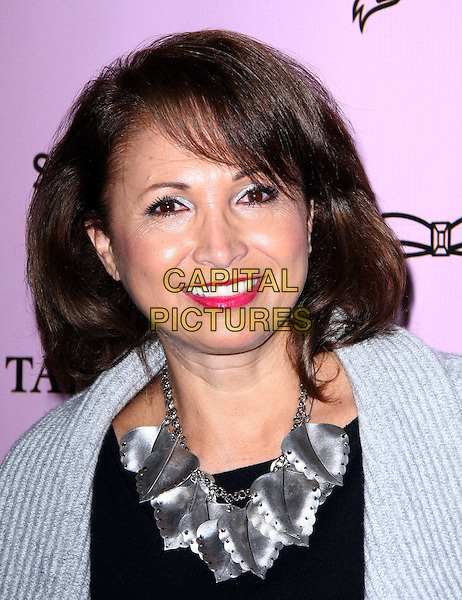 "MARGARITTA ARRIAGADA .Attending the Launch of The ""Tarina Tarantino Beauty"" Cosmetic Collection presented Exclusively at Sephora,.Hollywood, California, USA,.24th February 2010..portrait headshot grey gray black silver necklace .CAP/ADM/KB.©Kevan Brooks/AdMedia/Capital Pictures."