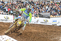 Chad Reed (AUS)<br /> 2018 SX Open - Auckland / SX 1<br /> FIM Oceania Supercross Championships<br /> Mt Smart Stadium / Auckland NZ<br /> Saturday Nov 24th 2018<br /> © Sport the library/ Jeff Crow / AME