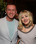 Andrew Lippa and Anais Mitchell during the DGf Salon with Anais Mitchell at the Kara Uterberg Residence on June 3, 2019  in New York City.