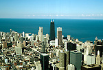 Illinois: Chicago.  View from Willis Tower.  Photo chicag101..Photo copyright Lee Foster, 510/549-2202, lee@fostertravel.com, www.fostertravel.com