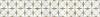 "7""  Zazen border, a hand-cut mosaic shown in polished Calacatta Tia and honed Gascogne Blue by Paul Schatz for New Ravenna."
