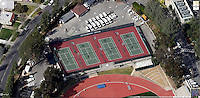 Occidental College's McKinnon Family Tennis Center. Image composite from Google Maps.
