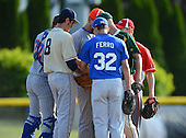 Genesee Region vs Niagara-Orleans County Senior All-Star Game at Dwyer Stadium on June 5, 2013 in Batavia, New York.  Game ended in a 6-6 tie after ten innings.  (Copyright Mike Janes Photography)
