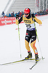 HOLMENKOLLEN, OSLO, NORWAY - March 16: Manuel Faisst of Germany (GER) during the cross country 15 km (2 x 7.5 km) competition at the FIS Nordic Combined World Cup on March 16, 2013 in Oslo, Norway. (Photo by Dirk Markgraf)