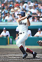 Yuya Shozui (Osaka Toin),<br /> AUGUST 25, 2014 - Baseball :<br /> 96th National High School Baseball Championship Tournament final game between Mie 3-4 Osaka Toin at Koshien Stadium in Hyogo, Japan. (Photo by Katsuro Okazawa/AFLO)8() vs
