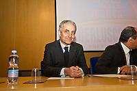 PESCARA (PE) 08/02/2013: ELEZIONI POLITICHE 2013, ANGELINO ALFANO INCONTRA I DIRIGENTI DEL PDL ABRUZZO A PESCARA PRESSO IL MUSEO DELLE GENTI. NELLA FOTO GAETANO QUAGLIARIELLO.  FOTO ADAMO DI LORETO