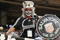 DC United Fan Salvatore. DC United defeated theLos Angeles Galaxy 1-0,  at RFK Stadium Washington DC, Thursday August 9, 2007.