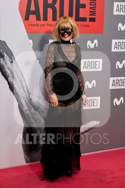 Eugenia Martinez de Irujo attends to ARDE Madrid premiere at Callao City Lights cinema in Madrid, Spain. November 07, 2018. (ALTERPHOTOS/A. Perez Meca)