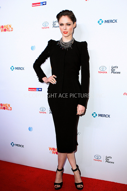 WWW.ACEPIXS.COM<br /> <br /> April 3 2014, New York City<br /> <br /> Coco Rocha attending the 5th Annual Women of the World Summit at the David H. Koch Theater on April 3 2014 in New York City<br /> <br /> By Line: Nancy Rivera/ACE Pictures<br /> <br /> <br /> ACE Pictures, Inc.<br /> tel: 646 769 0430<br /> Email: info@acepixs.com<br /> www.acepixs.com