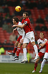 Stefan Scougill of Sheffield Utd tussles with Sam Ricketts of Coventry City - English League One - Sheffield Utd vs Coventry City - Bramall Lane Stadium - Sheffield - England - 13th December 2015 - Pic Simon Bellis/Sportimage-