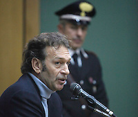 ARRESTO MASSIMO CELLINO.NELLA FOTO D'ARCHIVIO DURANTE LA DEPOSIZIONE AL PROCESSO CALCIOPOLI .FOTO CIRO DE LUCA