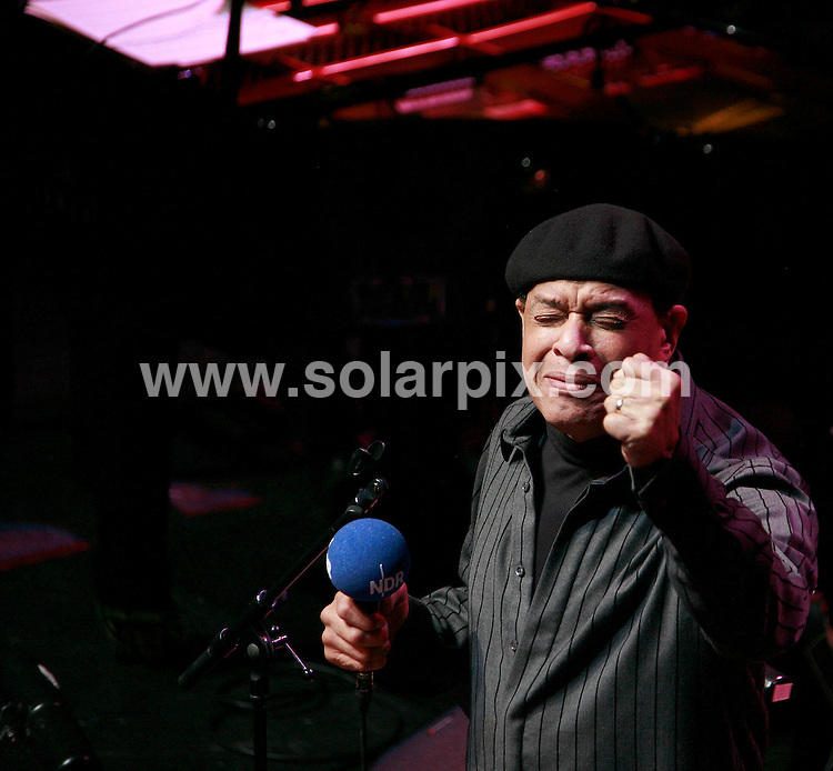 **ALL ROUND PICTURES FROM SOLARPIX.COM**.**WORLDWIDE SYNDICATION RIGHTS**.Al Jarreau performs live at the 02 Indigo, London. 15th November 2007..This pic: Al Jarreau..JOB REF: 5346 SHO     DATE: 15_11_2007.**MUST CREDIT SOLARPIX.COM OR DOUBLE FEE WILL BE CHARGED* *UNDER NO CIRCUMSTANCES IS THIS IMAGE TO BE REPRODUCED FOR ANY ONLINE EDITION WITHOUT PRIOR PERMISSION*