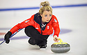 The womens Team GB Winter Olympic Curling Team 2014 :  Anna Sloan.