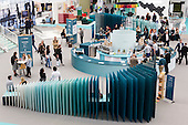London, UK. 22 September 2016. The UK's largest design show 100% Design takes place at London Olympia from 21 to 24 September 2016. © Bettina Strenske/Alamy Live News