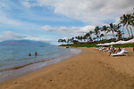 Mokapu Beach at the Andaz hotel in Wailea, Maui, Hawaii
