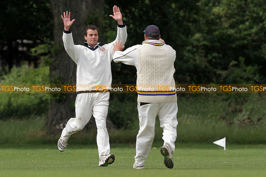 Gidea Park & Romford CC (batting) vs Upminster CC - Essex Cricket League Dukes Twenty20 Competition - 18/06/11 - MANDATORY CREDIT: Gavin Ellis/TGSPHOTO - Self billing applies where appropriate - Tel: 0845 094 6026