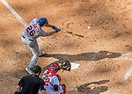 30 April 2017: New York Mets catcher Kevin Plawecki pinch hits in the 8th inning against the Washington Nationals at Nationals Park in Washington, DC. The Nationals defeated the Mets 23-5 in the third game of their weekend series. Mandatory Credit: Ed Wolfstein Photo *** RAW (NEF) Image File Available ***
