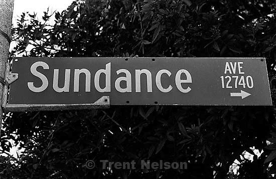 Sundance street sign<br />