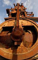 Mining machinery, Washington.