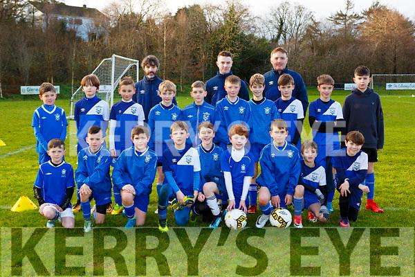 The Killarney Athletic team that played Ballyhar Dynamos in the u11 league in Killarney on Saturday