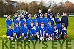 The Killarney Athletic team that played Ballyhar Dynamos in the u11 league in Killarney on Saturday