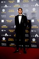 Justin Kluivert <br /> Parigi 3-12-2018 <br /> Arrivi Cerimonia di premiazione Pallone d'Oro 2018 <br /> Foto JB Autissier/Panoramic/Insidefoto <br /> ITALY ONLY